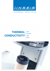 Thermal Conductivity Product brochure (PDF)