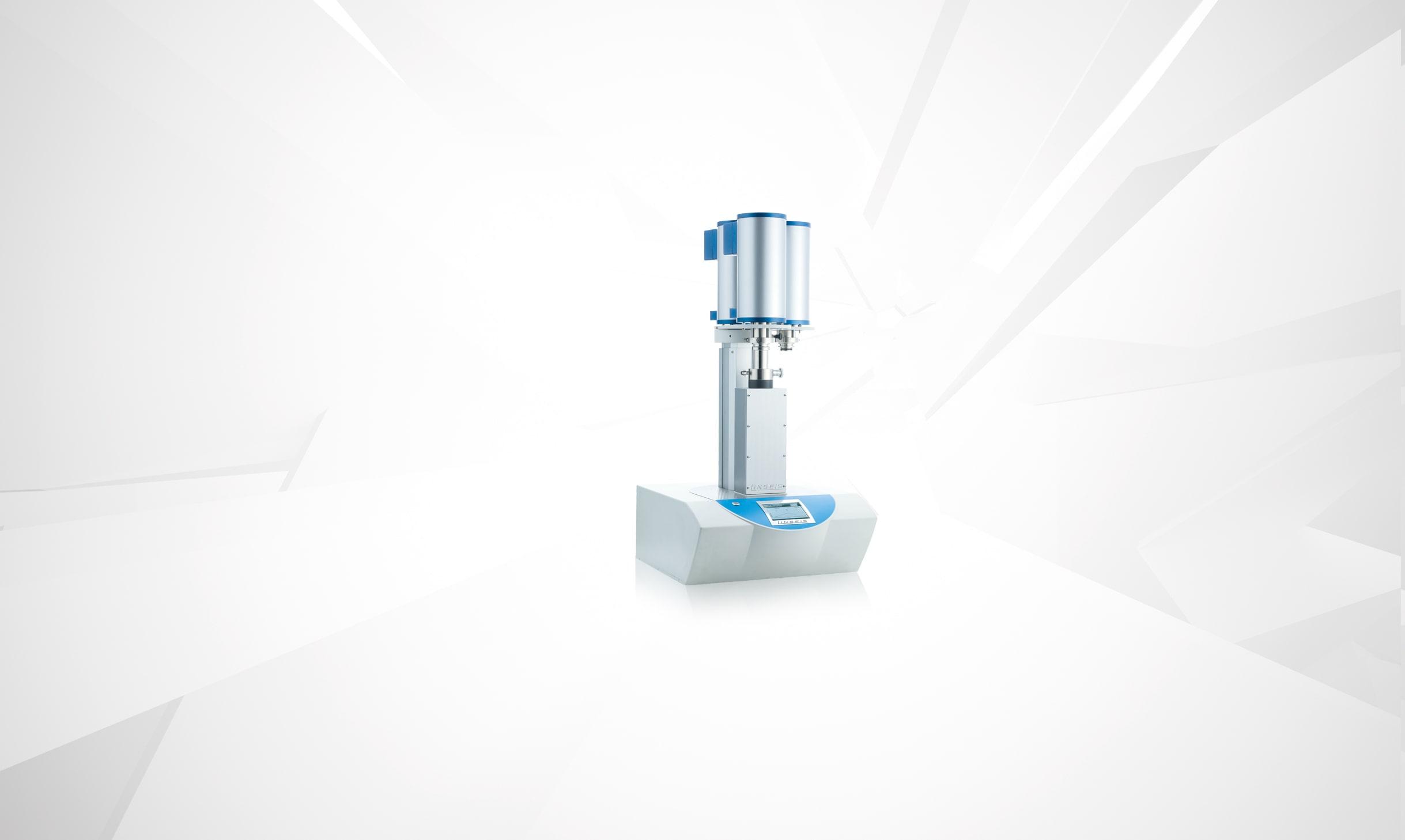 Linseis Dilatometer 4fach Proben
