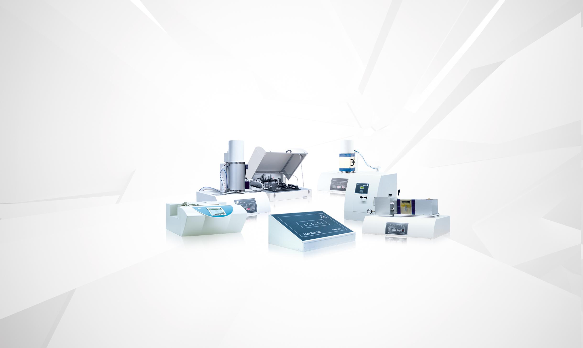 Wärmeleitfähigkeit Produkte der Firma Linseis Messgeräte
